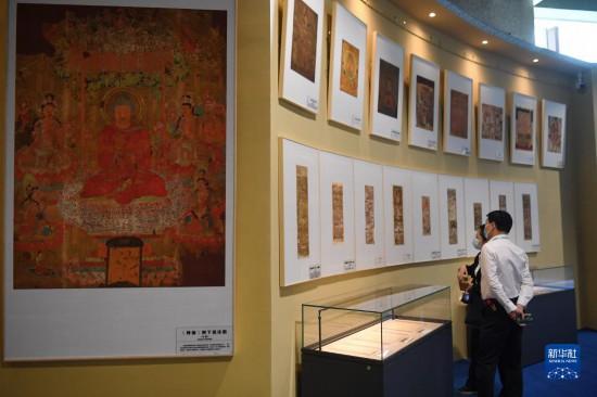 """""""到世界找敦煌""""——200件敦煌流散海外文物复制品展出"""